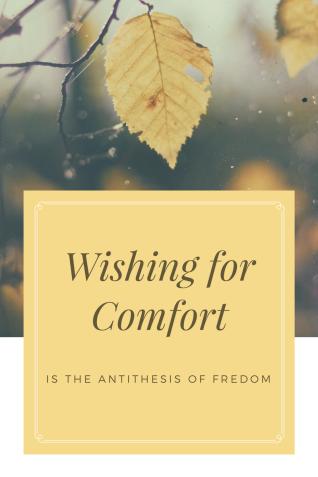 Wishing for Comfort